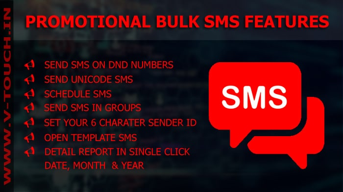 BEST Promotional bulk sms Service in Bhopal